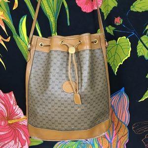 Gucci Bags - GUCCI / 1960s RARE GG Bucket Bag. Needs TLC